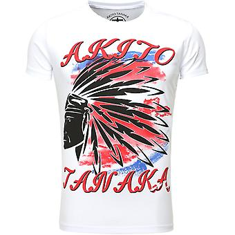 Akito Tanaka T-Shirt white Indian