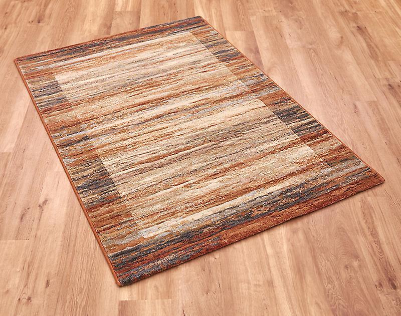 Galleria 79138-6888 ori di og di tonalità terrose, grigi e marroni rettangolo tappeti tappeti moderni
