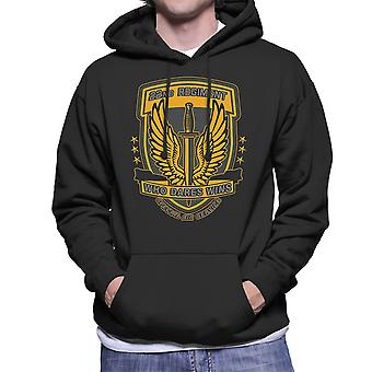 22nd Regiment Insignia COD 4 Modern Warfare Men's Hooded Sweatshirt