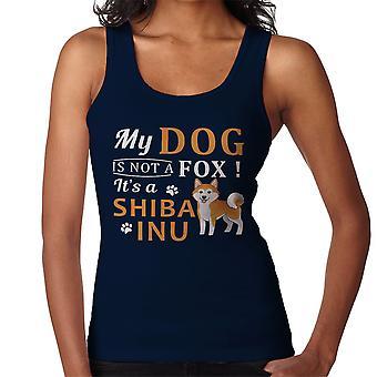 Mein Hund ist kein Fuchs ein Shiba Inu Damen Weste