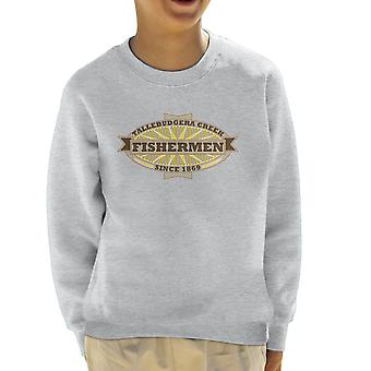Tallebudgera Creek Fishermen 1869 Kid's Sweatshirt