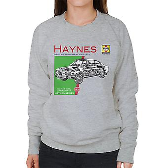 Haynes Owners Workshop Manual 0303 Skoda 110R Women's Sweatshirt