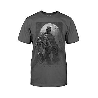 Batman Mens Batman Exreme Art T Shirt Black