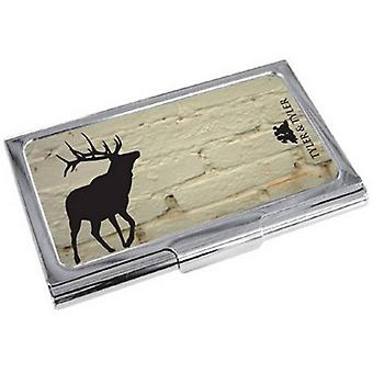 Tyler e Tyler mattoni cervo Business Card Holder - White