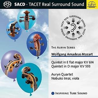 Mozart / Auryn kvartetten - Auryn serie: Mozart: kvintet i E flade store [SACD] USA import