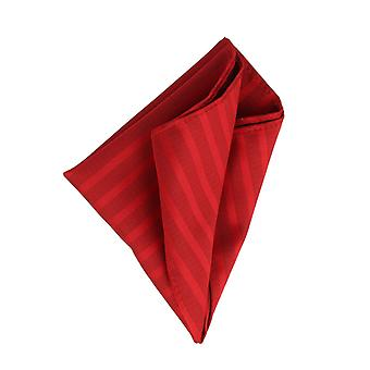 Frédéric Thomass handkerchief Hanky Cavalier cloth red striped Pochette Microfiber