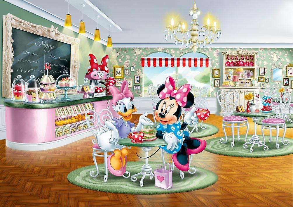 Disney Minnie & Paperina Decorazione Murales 255x180cm
