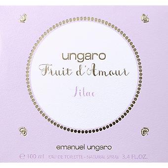 Emanuel Ungaro Fruit d'Amour Lilac Eau de Toilette 100ml EDT Spray