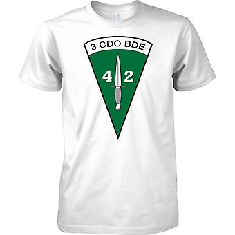 Royal Marine 42 Commando - 3 Cdo Bde - Mens T Shirt