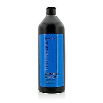 Matrix Total Results Moisture Me Rich Glycerin Shampoo (For Hydration) - 1000ml/33.8oz