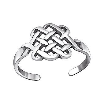 Basket - 925 Sterling Silver Toe Rings - W29404X
