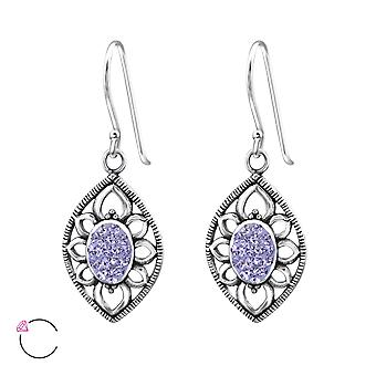 Marquise crystal from Swarovski® - 925 Sterling Silver Earrings