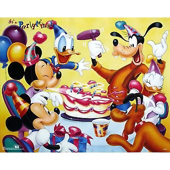 Mickey & Friends Birthday Party Poster Print by Walt Disney (20 x 16)