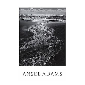 Ansel Adams Stream Sea Clouds Rodeo Lagoon Marin Poster Print by Ansel Adams (25 x 36)