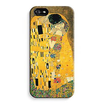 iPhone 5C Full Print Case (Glossy) - Der Kuss