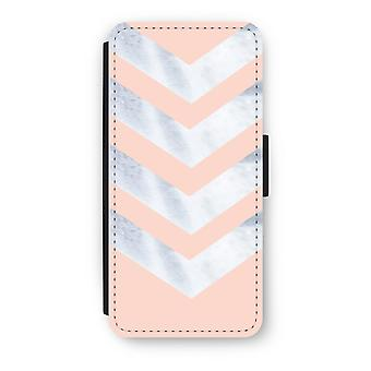 iPhone 5c Flip Case - Marble arrows