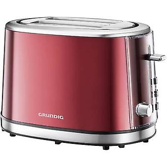 Toaster with home baking attachment Grundig TA6330 Red (metallic
