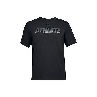 UA Athlete SS 1305661-001 Mens T-shirt