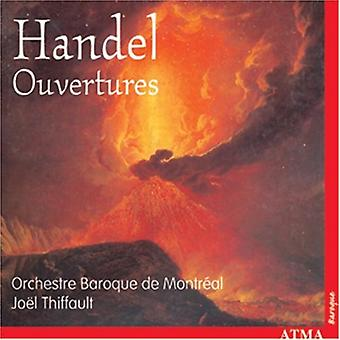 G.F. Handel - Handel: Ouvertures [CD] USA import