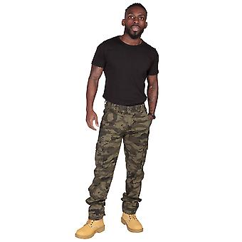 Classic Army Green Camo Cargo Trousers Cargo Pants Combat trousers
