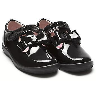 Lelli Kelly Maya T-bar LK8266 Black Patent School Shoes