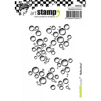 Carabelle Studio Cling Stamp A7-Bubbles Of Water