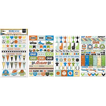 Game On! Clear Stickers-