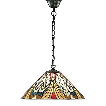 Wnętrza 1900 Hector pojedynczy styl Tiffany światła sufit