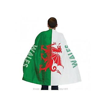 Union Jack Wear Wales Flag Cape