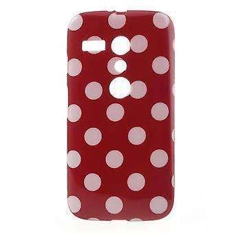 Étui de protection pour téléphone Motorola Moto G DVX XT1032 rouge