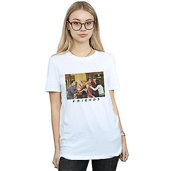 Gli amici gruppo Foto Appartamento Boyfriend Fit t-shirt donna
