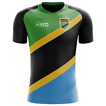 2018-2019 Tansania Wohnkonzept Fußballtrikot