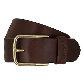 WRANGLER belt leather belts men's belts Brown 7460