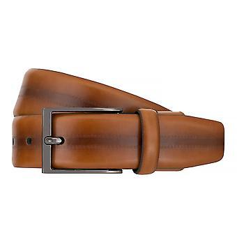 Ceintures pour hommes de Strellson ceintures cuir ceinture Flexbelt Cognac 7562