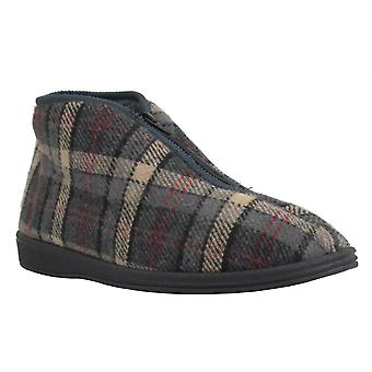 Sleepers Mens Slipper Jed II Grey
