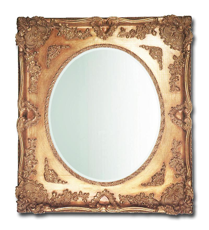 Spegel i guld, yttermått 61x71 cm TA033