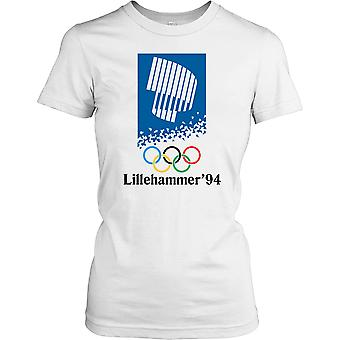 Lillehammer 94 - Winter Olympics Ladies T Shirt