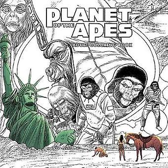 Planet av aporna vuxen Målarboken av Planet av aporna vuxen Co