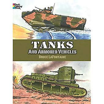 Panzer und gepanzerte Fahrzeuge (Dover Geschichte Malbuch)