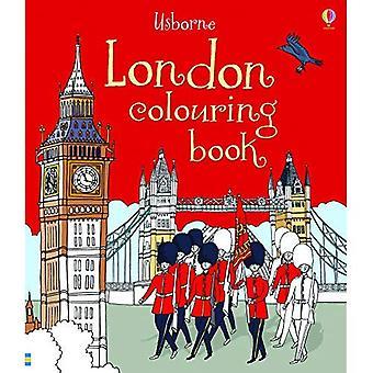 Livro de colorir de Londres