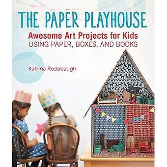 Papper lekstugan: Awesome konst projekt för barn med papper, lådor och böcker