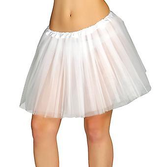 Womens tutu blanc 80 ' s