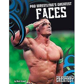 Plus grands visages de Pro Wrestling (Pro Wrestling de plus grand)