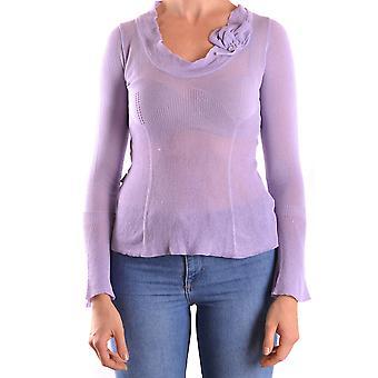 Love Moschino Purple Viscose Sweater