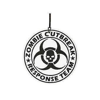 Zombie brote respuesta equipo ambientador