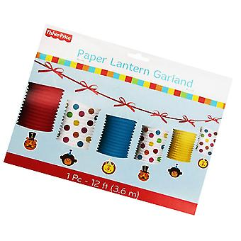 Fisher Price Paper Lantern Garland 12ft