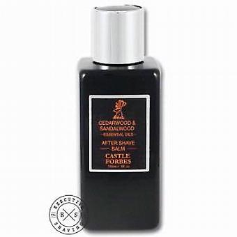 Castle Forbes cedertræ & sandeltræ Aftershave balsam 125ml