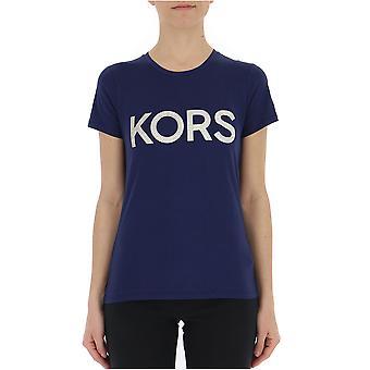 Michael Kors Blue Cotton T-shirt