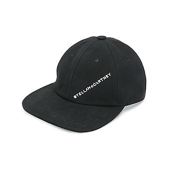 Stella Mccartney Black Cotton Hat