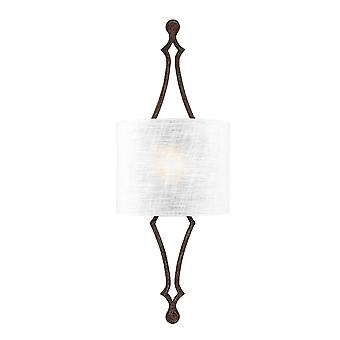 Elstead - 1 Light Wall Light - Weathered Iron - FE/TILLING1 WI